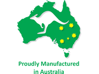 Proudly Manufactured in Australia